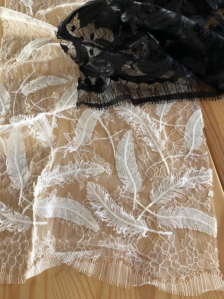 кружева ткани Париж